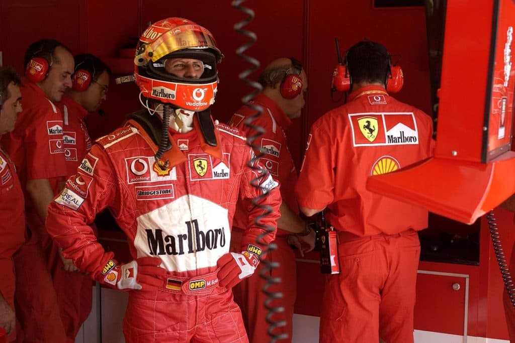 Michael Schumacher, Credit: Ferrari