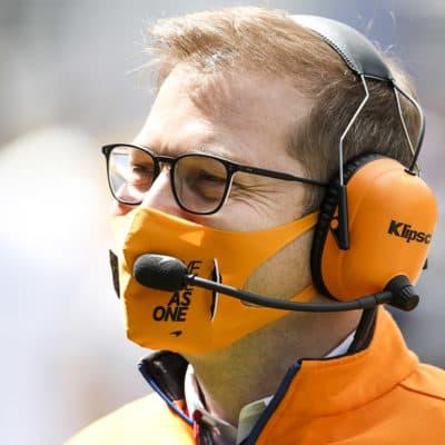 Andreas Seidl Credit: McLaren