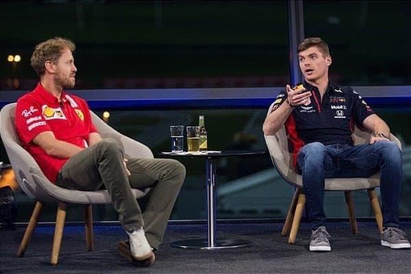 Vettel and Verstappen at Servus TV