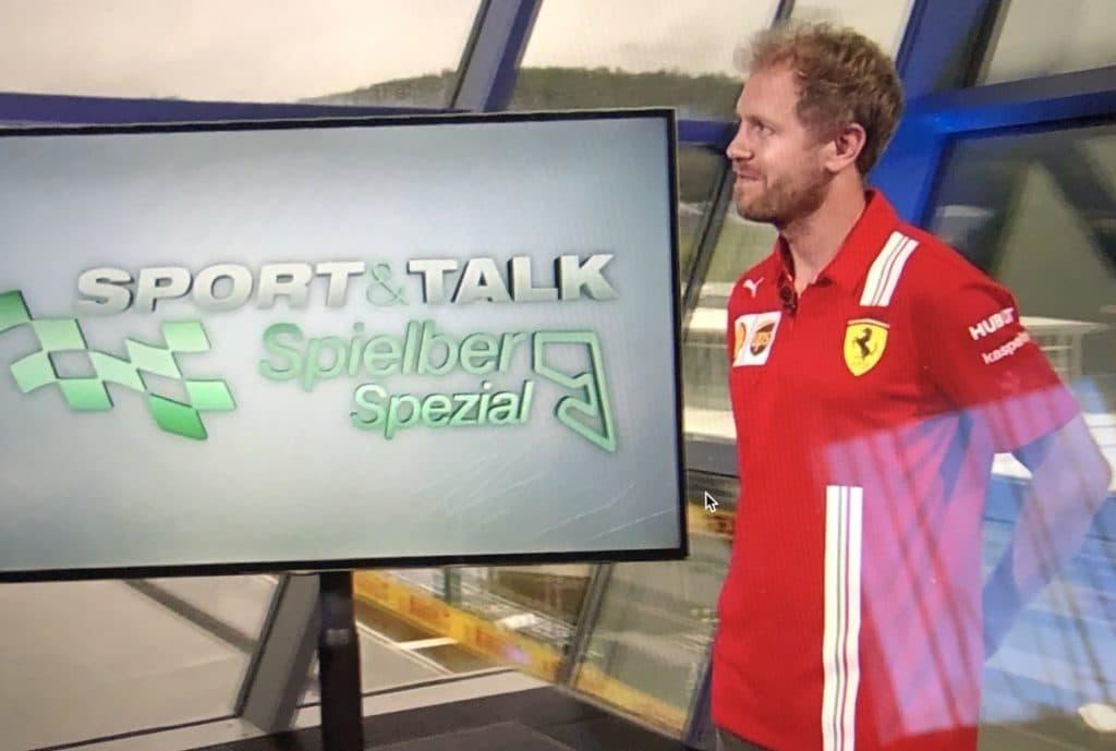 Vettel bei Servus TV