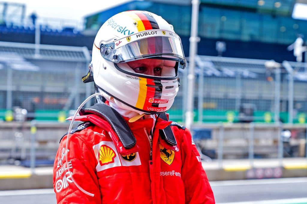 Sebastian Vettel Ferrari. Credit: Ferrari