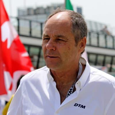 Gerhard Berger, Credit: ITR