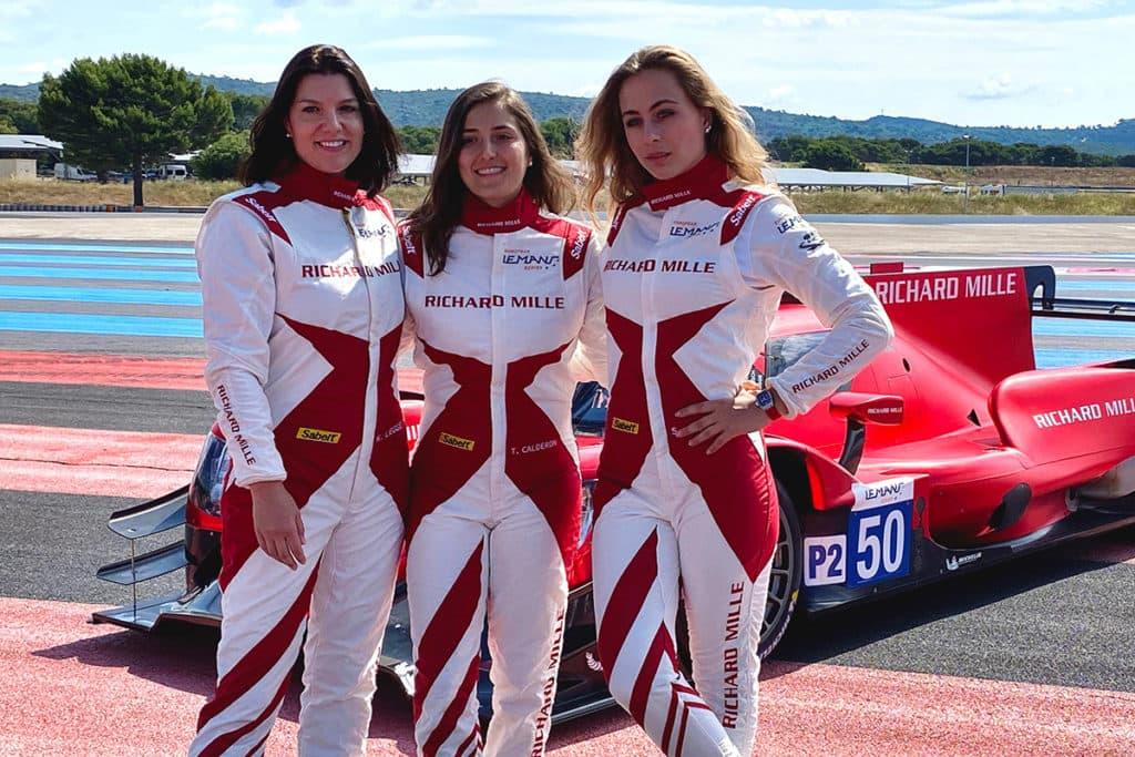 Sophia Flörsch wird am Wochenende in der europäischen Le-Mans-Serie ihr Debüt geben. Credit: @SophiaFloersch/Twitter