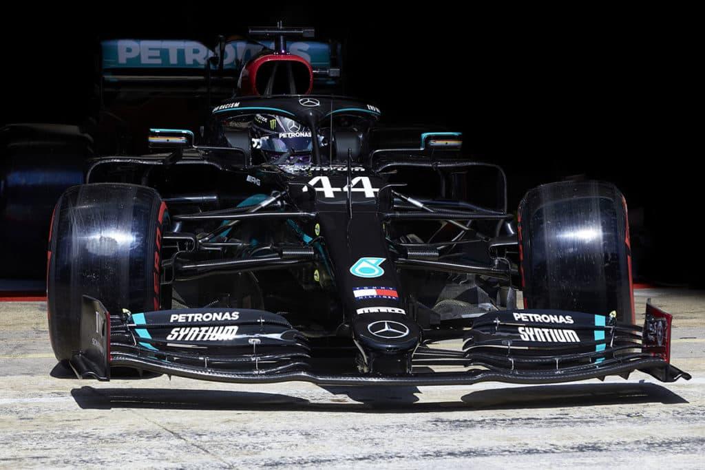 Lewis Hamilton, Credit: S. Etherington/Mercedes