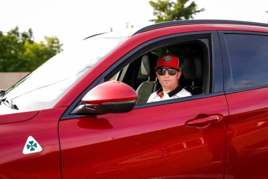 Kimi Räikkönen Credit: FCA