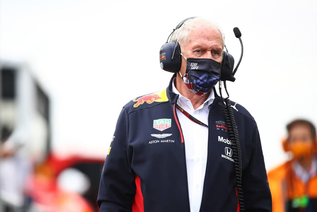 Red Bull Racing Team Consultant Dr Helmut Marko