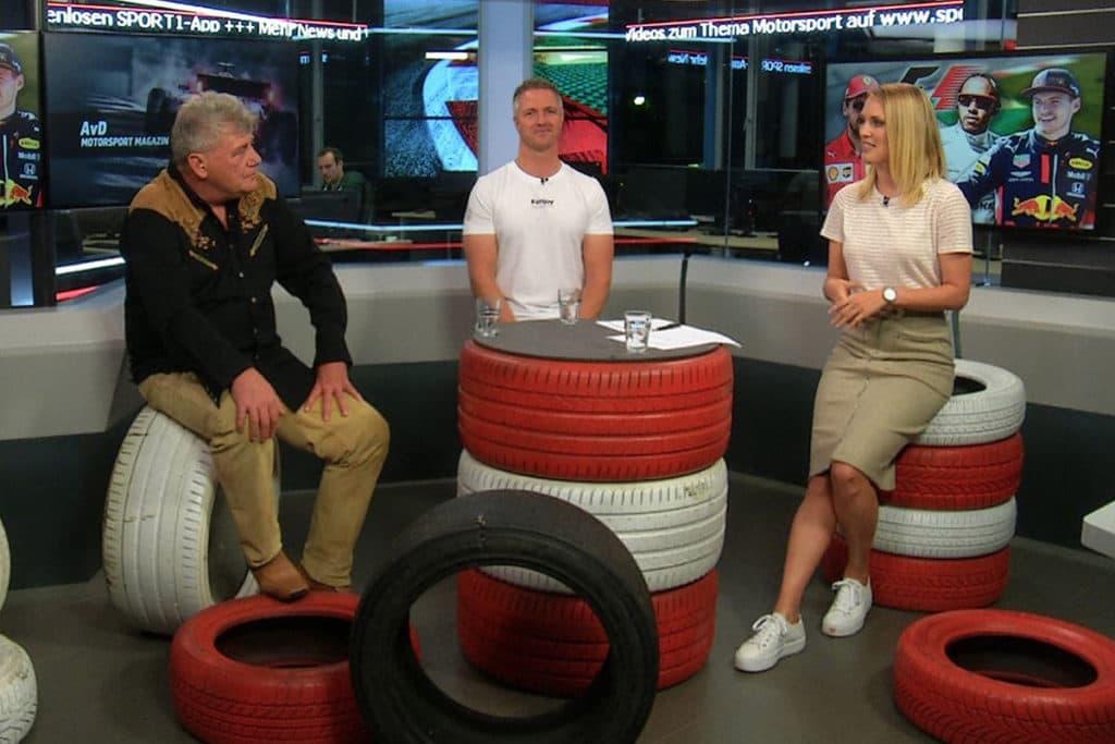 Ralf Schumacher spricht im AvD Motorsport Magazin über seinen Buder Michael, Sebastian Vettel und Ferrari. Credit: Sport1