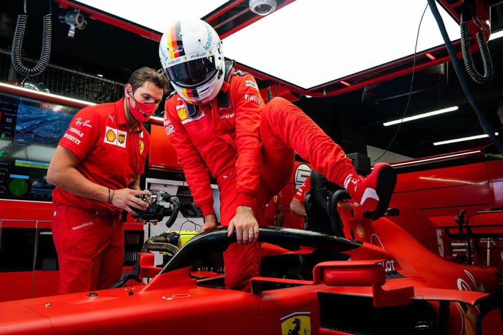 Ferrari nur noch Mittelmaß - Rivalen reden Vettel stark