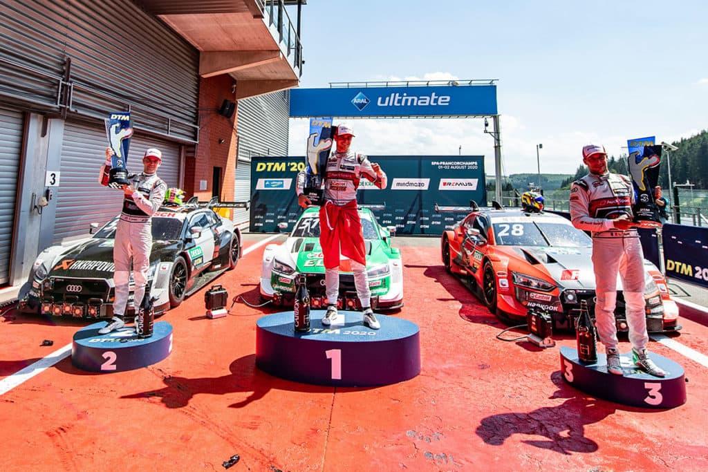 DTM in Spa: Fünffach-Sieg für Audi