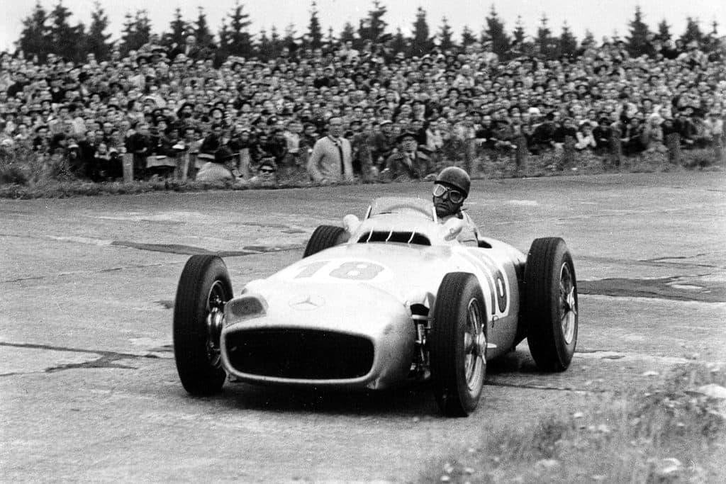 Juan Manuel Fangio hat eine bessere Pole Quote als Lewis Hamilton