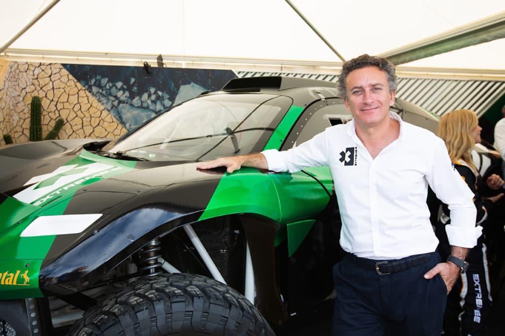 Formel-E-Boss Alejandro Agag Credit: Shivraj Gohil/Extreme E