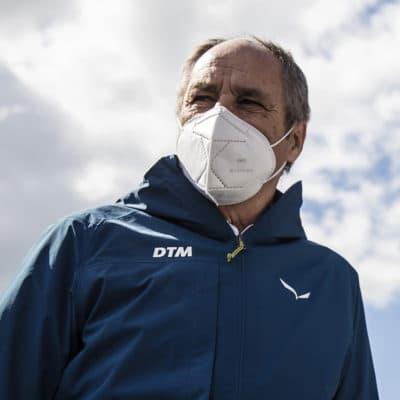 DTM-Boss Gerhard Berger Credit: ITR