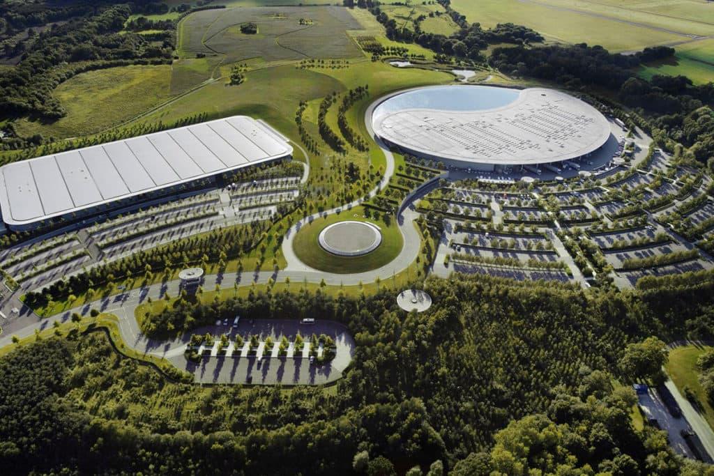 McLaren-Fabrik; Credit: McLaren