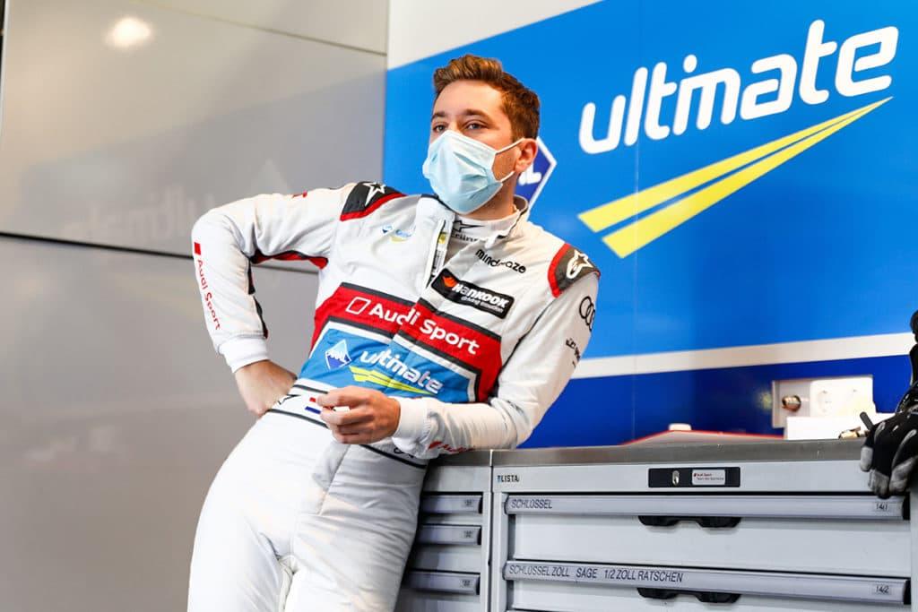 Audi Fahrer Robin Frijns