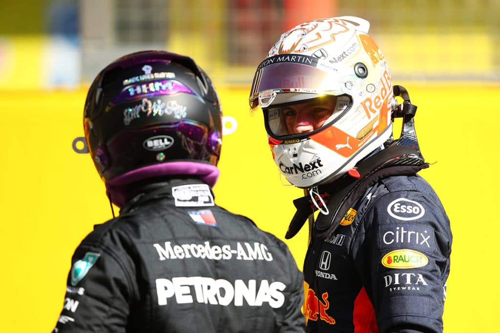 Max Verstappen will 2021 mit Hamilton kämpfen Credit: Red Bull Content Pool