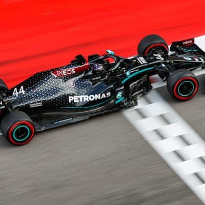 Lewis Hamilton Credit: W. Wilhelm/Mercedes