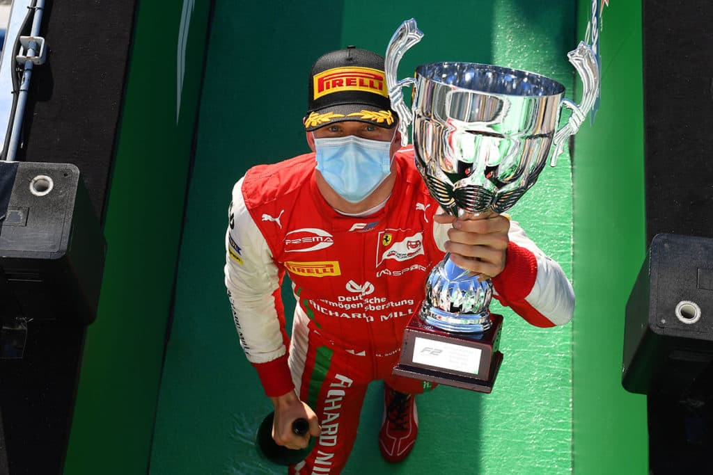 Mick Schumacher. Credit: Ferrari