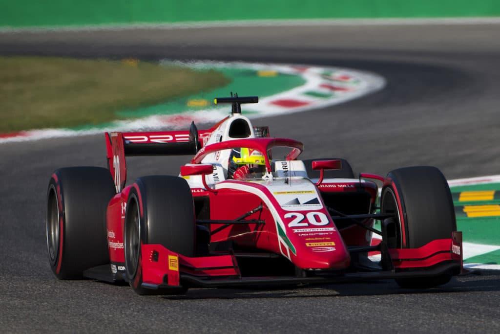 Mick Schumacher holt in Monza seinen ersten Sieg 2020. Credit PREMA
