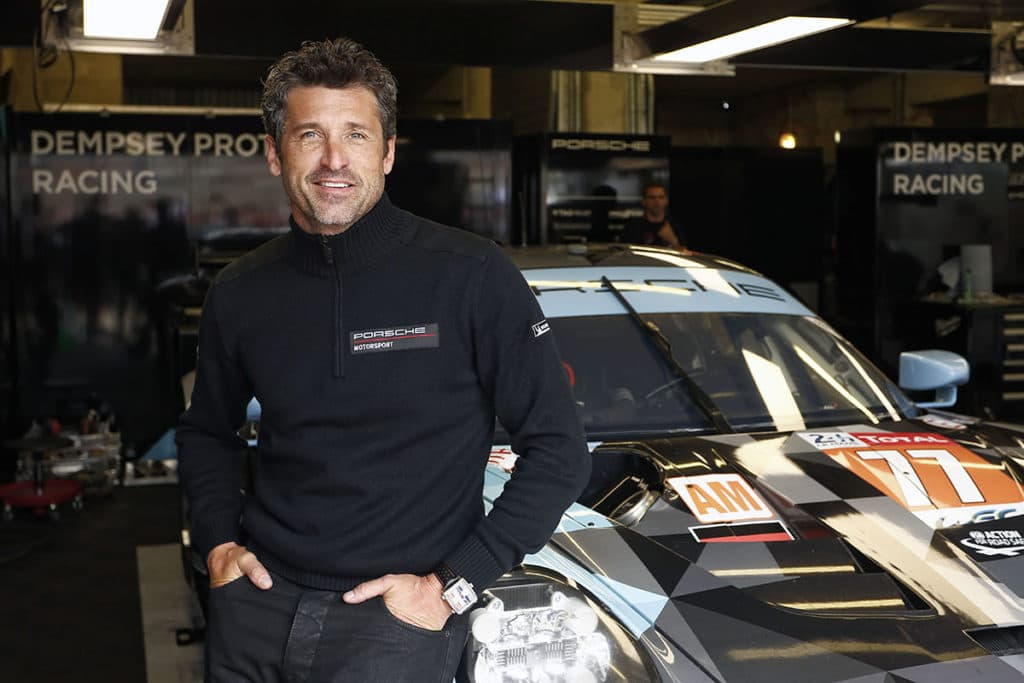 Patrick Dempsey Credit: Porsche