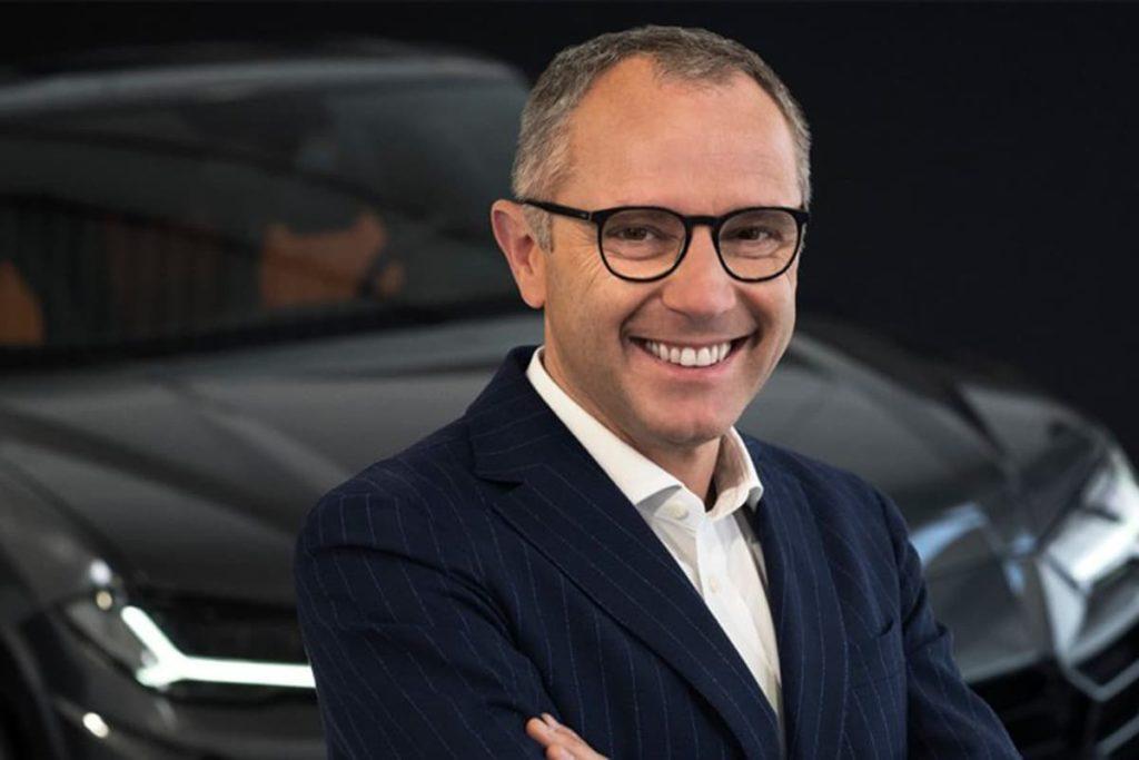 Stefano Domenicali Credit: Lamborghini
