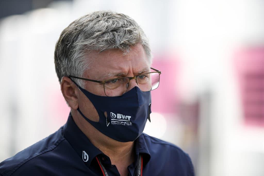 Otmar Szafnauer, Teamchef und CEO, Racing Point Vettel