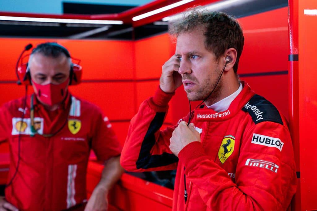 Sein 250. Rennwochenende war für Sebastian Vettel (33) eines zum Vergessen