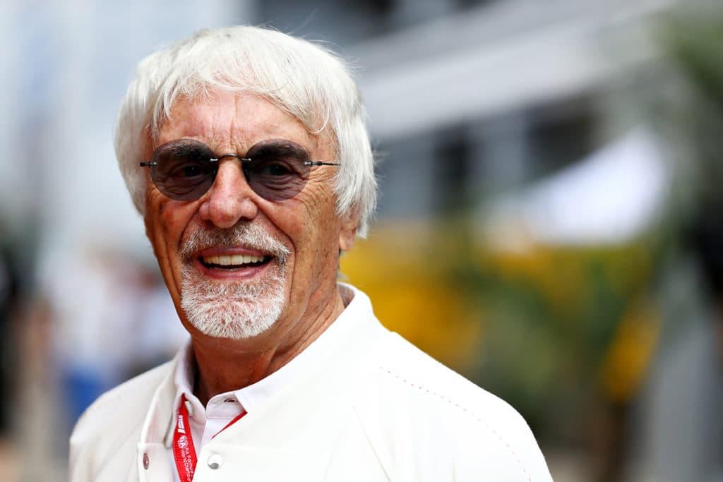 Bernie Ecclestone Credit: F1
