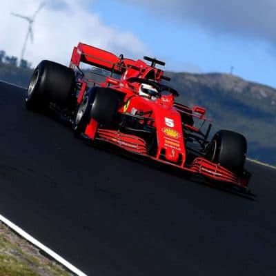 Sebastian Vettel Credit: Ferrari