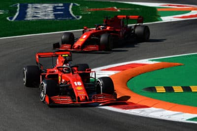 Ferrari 2020 GP Italien. Credit: Ferrari