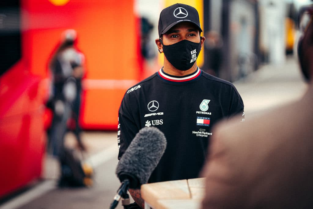 Lewis Hamilton Credit: Sebastian Kawka