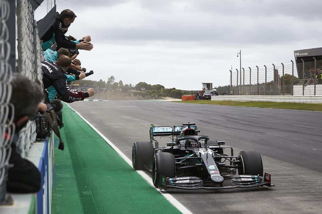Lewis Hamilton Credit: S. Etherington/Mercedes