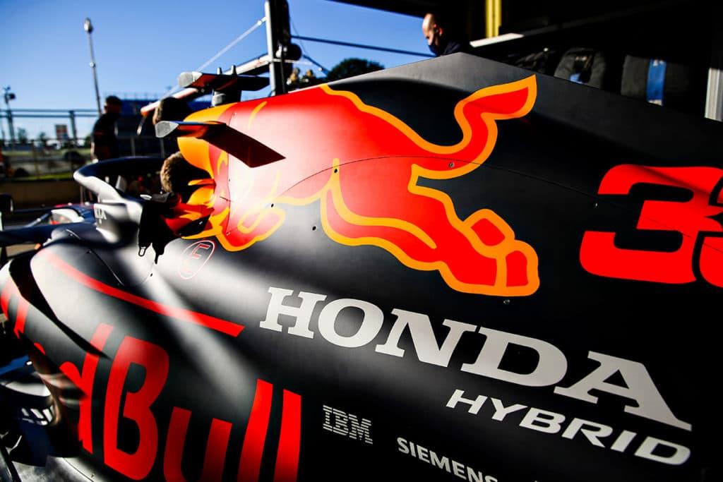 Red Bull und Noch-Motorpartner Honda arbeiten ab heute also parallel. Credit: Red Bull Content Pool