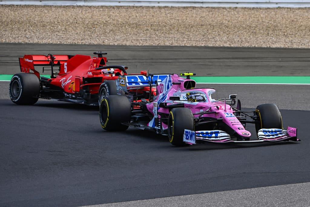 Nico Hülkenberg und Sebastian Vettel Credit: Racing Point