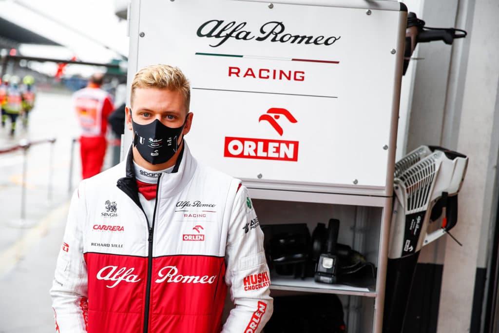Mick Schumacher. Credit: Alfa Romeo Racing