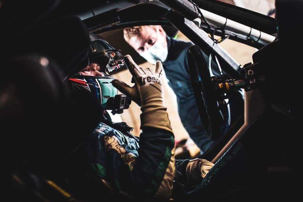 Billy Monger war bei den Extreme-E-Testfahrten dabei