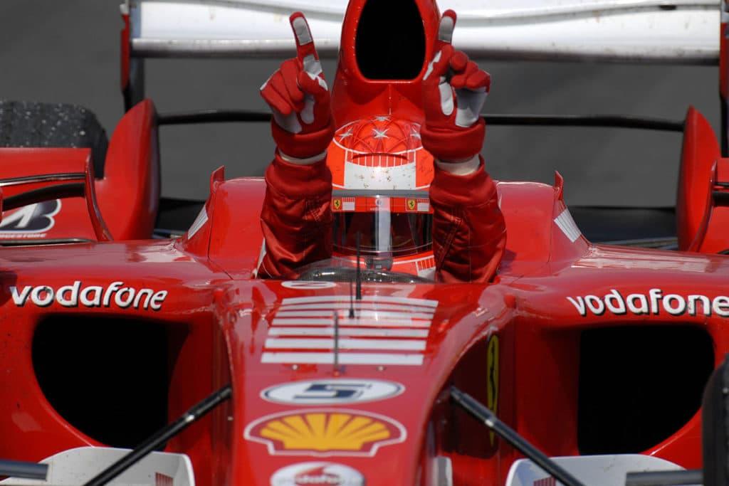 Michael Schumacher Credit: Ferrari