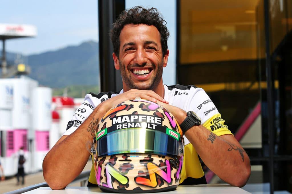 Daniel Ricciardo Credit: Renault
