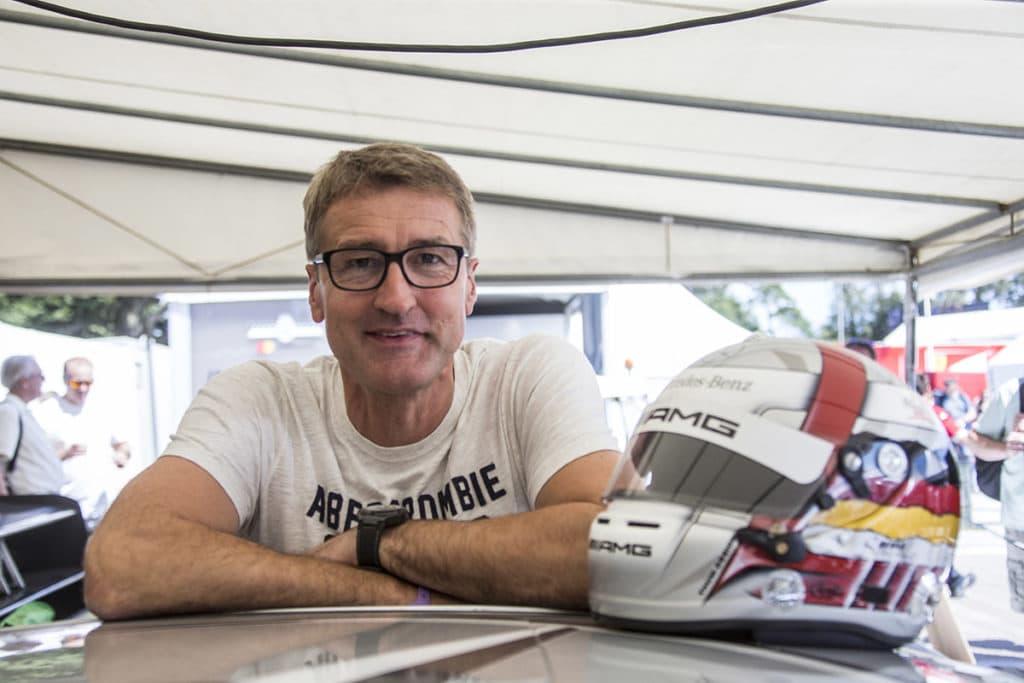Bernd Schneider talks about Sebastian Vettel Credit: Daimler AG