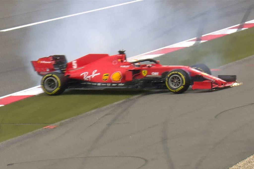 Sebastian Vettel Credit: F1 TV