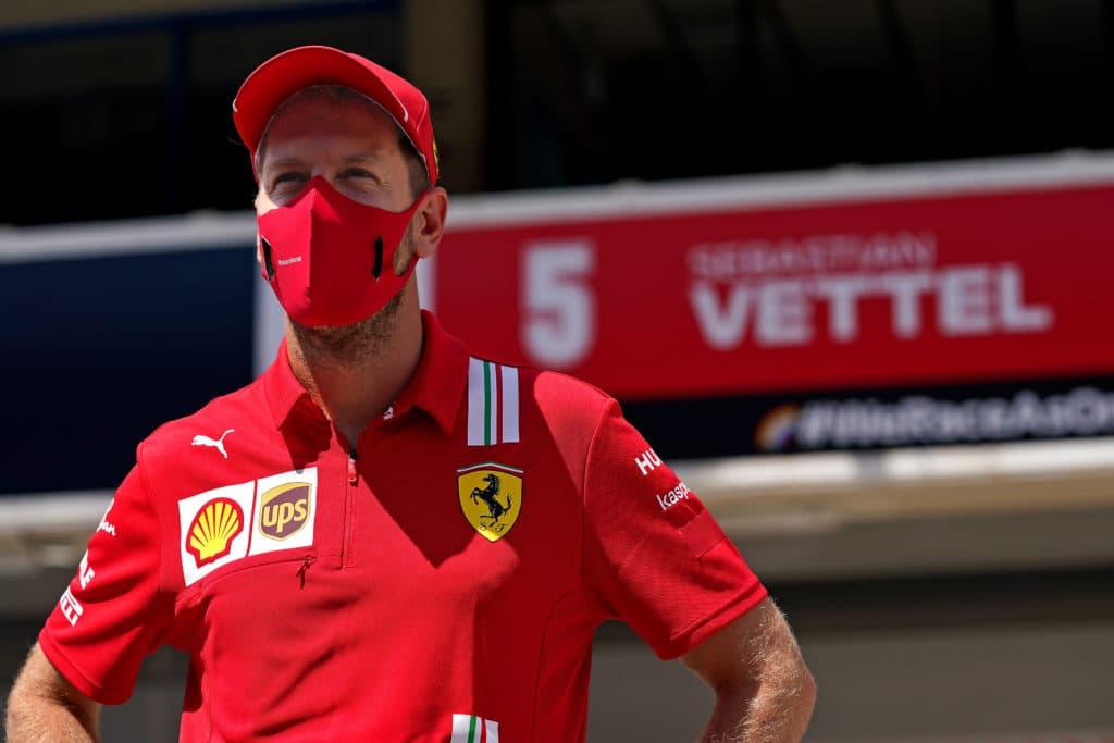 Für Sebastian Vettel (33) kann es nur einen geben: Michael Schumacher Credit: Ferrari