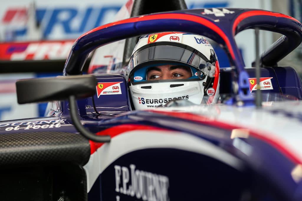 Giuliano Alesi Credit: Ferrari