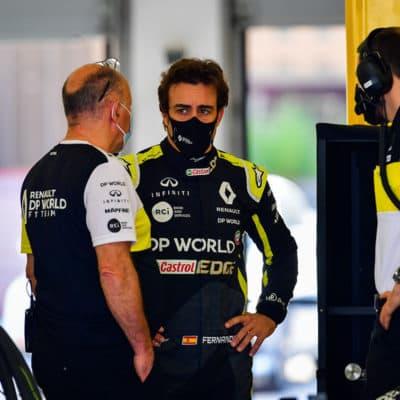 Fernando Alonso Credit: Renault