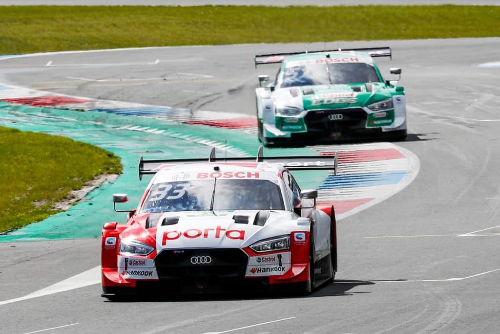 DTM Nico Müller und René Rast Credit: Audi