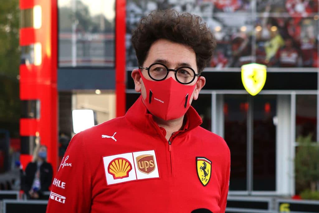 Ferrari-Teamchef Mattia Binotto stimmt im Motorenstreit einem Kompromiss zu