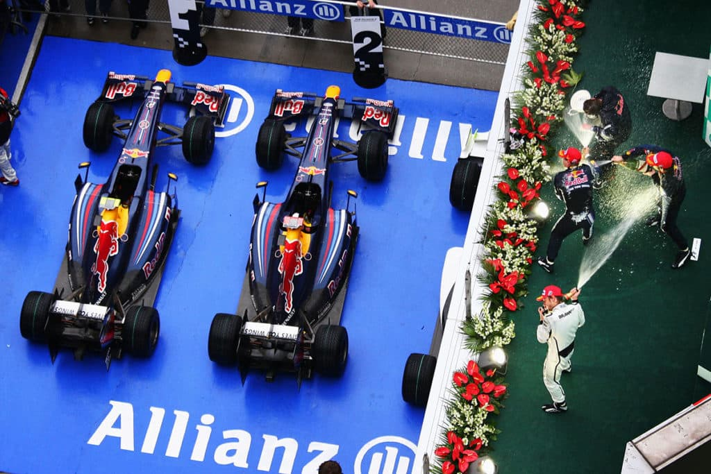 Highlights aus 300 GP Red Bull F1