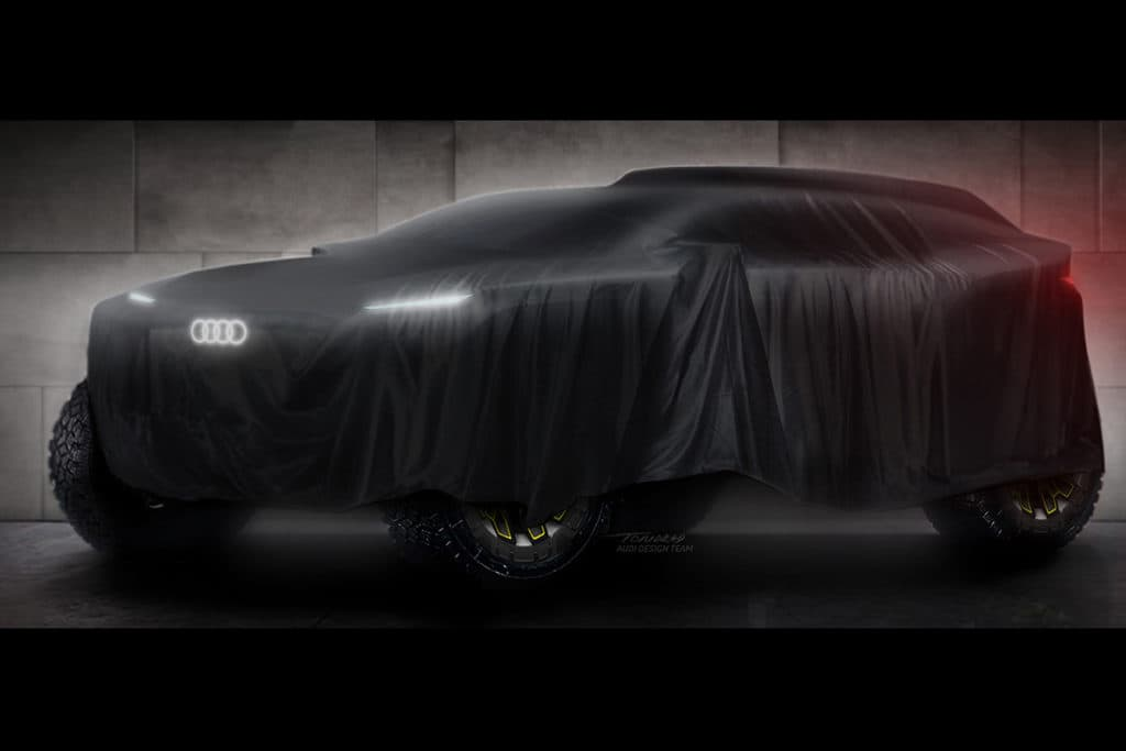 Audi will 2022 bei der Rallye Dakar starten.