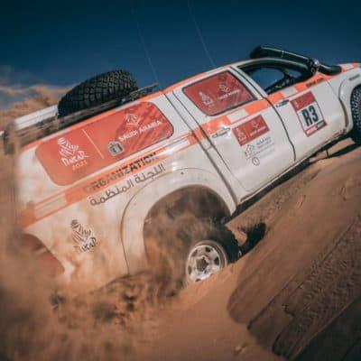 Rally Dakar Credit: A.S.O.