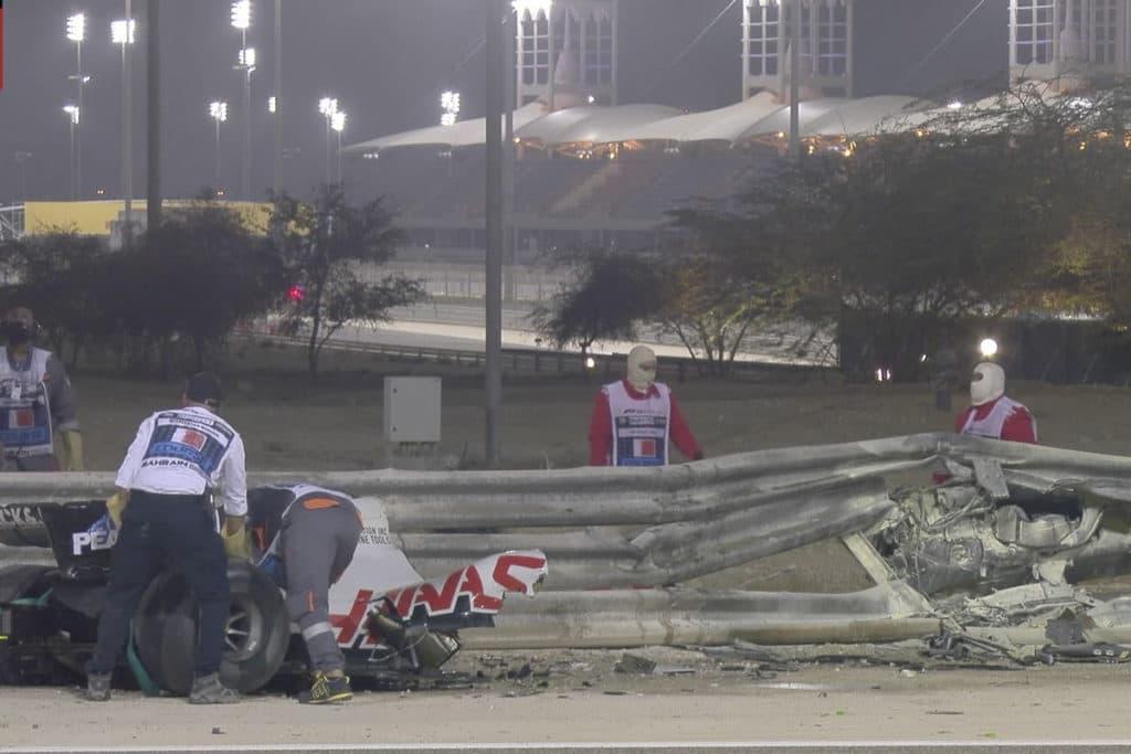 Fittipaldi ersetzt Grosjean nach seinem schweren Unfall in Bahrain