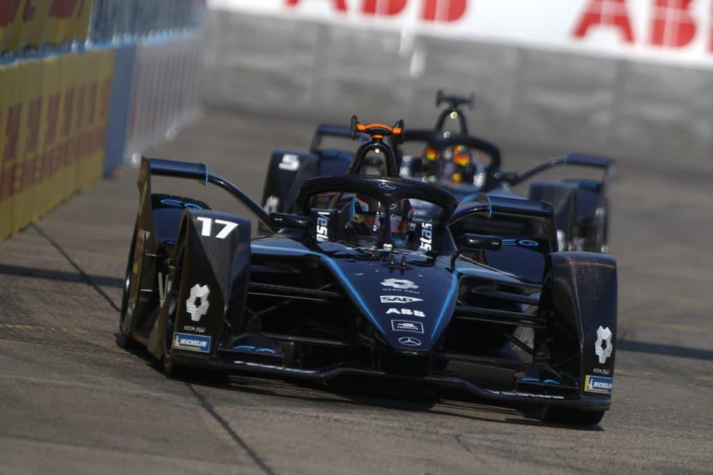 Mercedes, Formel E. Credit: Formel E