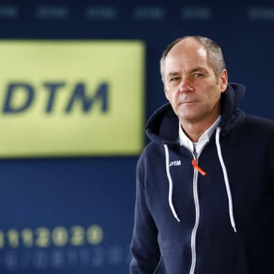 Gerhard Berger Credit: DTM